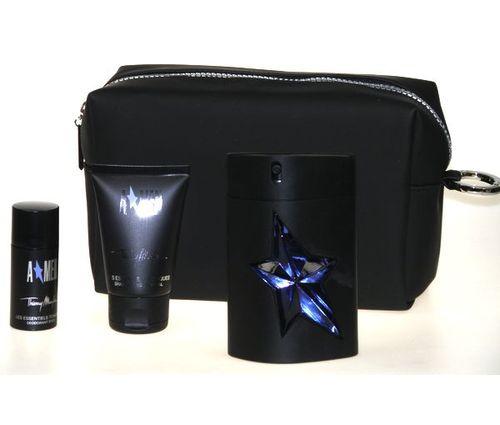Thierry Mugler Amen, Edt 100ml + 50ml sprchový šampon + 20ml deostick + kosmetická taška